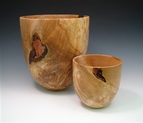 Big Leaf Maple Burl Vessels